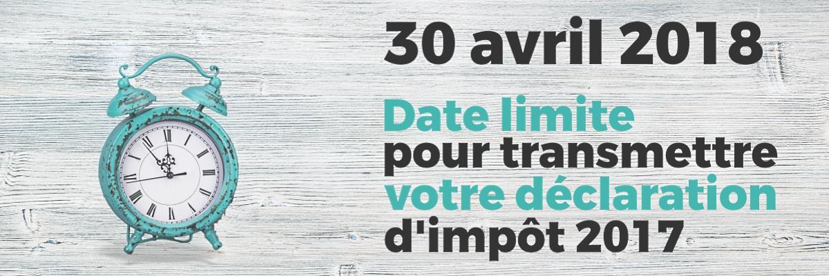 Date Limite Impots 2017